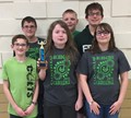 Cloverleaf 7th and 8th grade middle school Academic Challenge team