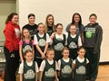 Cloverleaf Youth Girls Basketball team