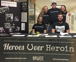 Students raise $1,400+ for Heroes Over Heroin