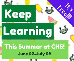 CHS Summer School sign-up