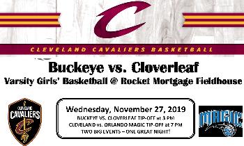 Cloverleaf girls basketball at Rocket Mortgage Fieldhouse