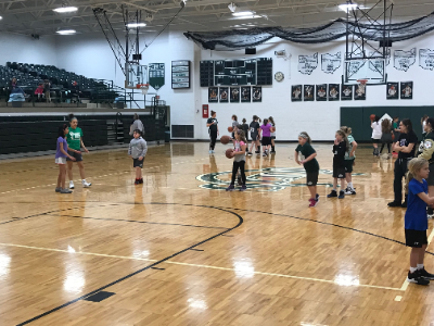 Sign up for girls youth basketball