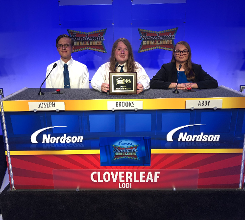 """Colts win on TV's """"Academic Challenge"""""""