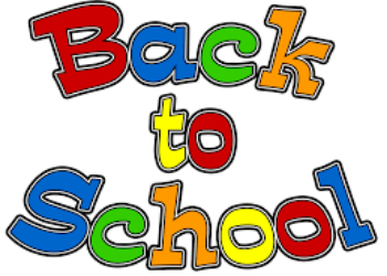 Important dates for the start of school
