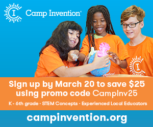 Camp Invention banner