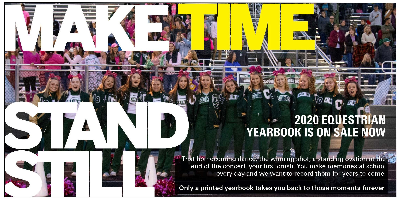 2020 Equestrian yearbook now on sale