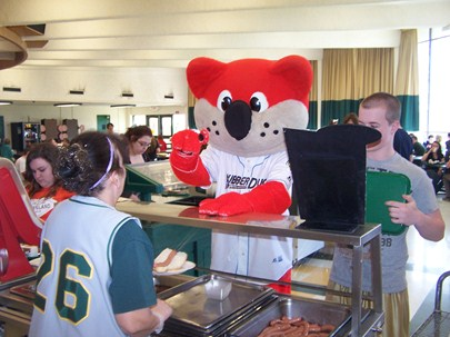 Orbit visits Cloverleaf!