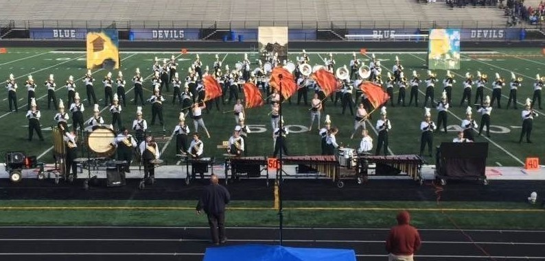 2015 Cloverleaf High School Marching Band