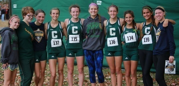 2015 Cloverleaf High School Cross Country team