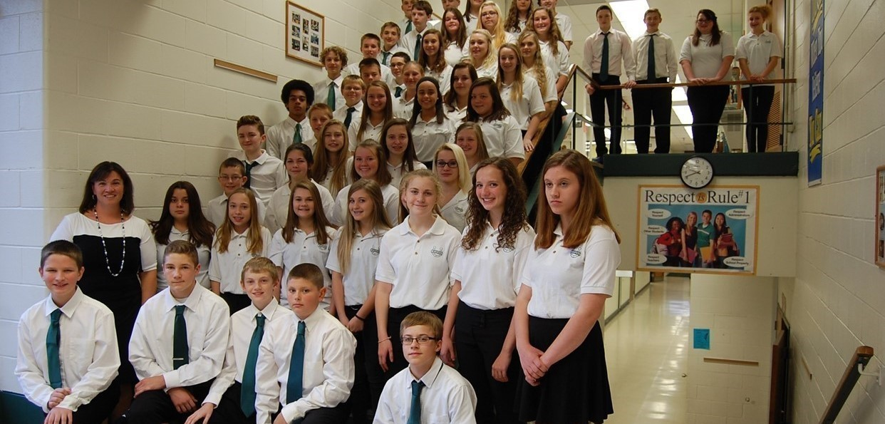 Cloverleaf Middle School Choir