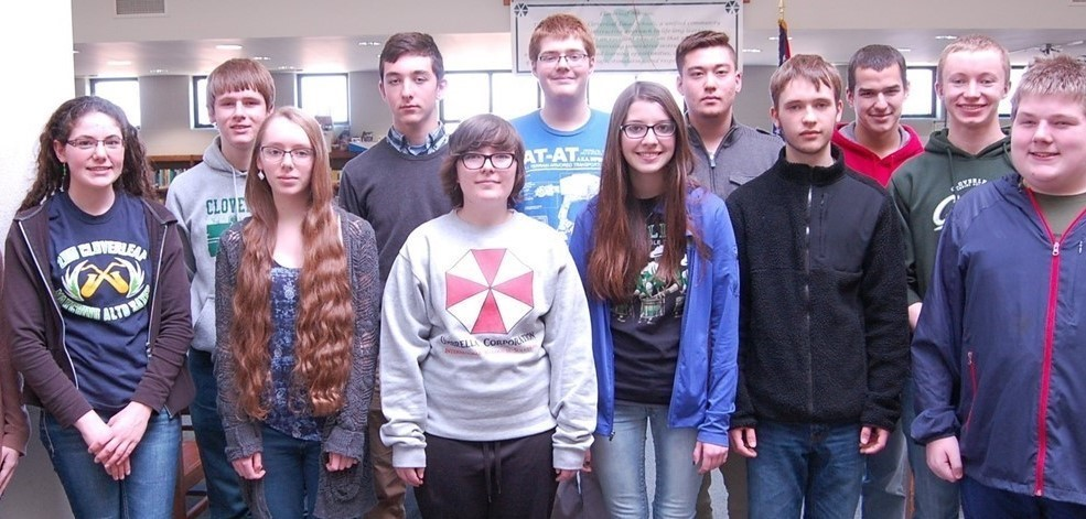 Cloverleaf High School Academic Challenge team