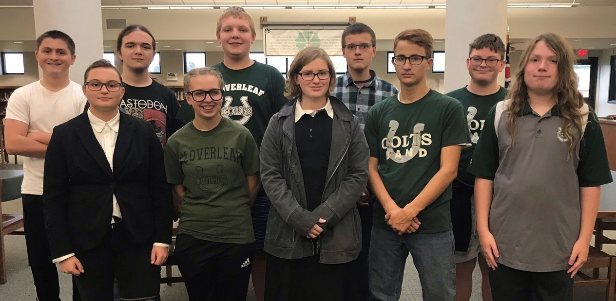 2018-19 CHS Academic Challenge Team