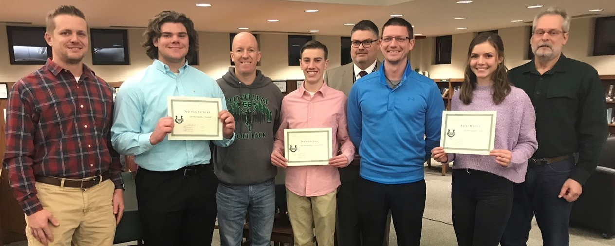 2018 All-State qualifiers honored by Cloverleaf Board of Education