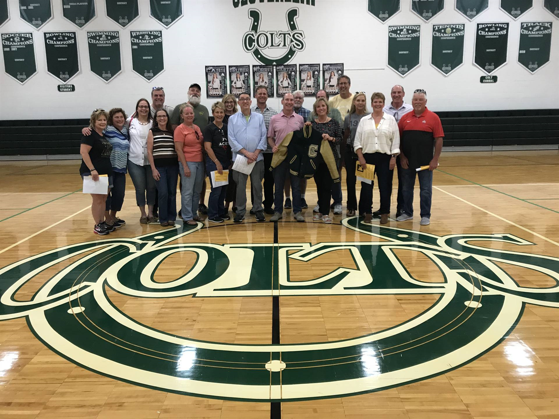 Members of the Cloverleaf Class of 1979