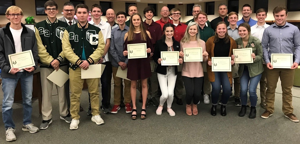 BOE honors Fall 2019 athletes