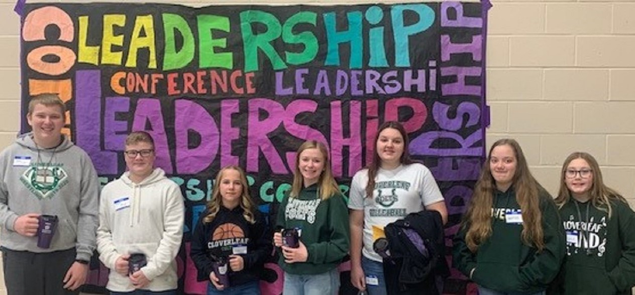 CMS leadership students