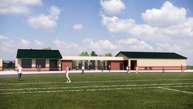 Gene Clark Stadium renovation rendering