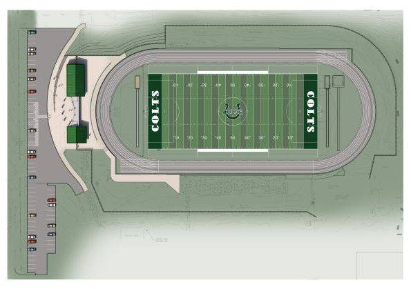Gene Clark Stadium full site plan