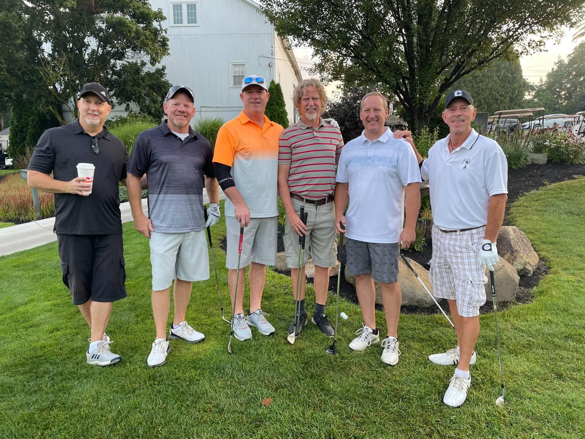2021 Golf Outing alumni