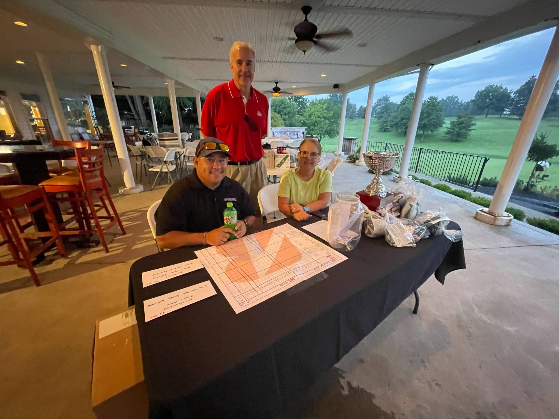 2021 Golf Outing registration table